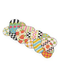Egg Hunt Table Runner by MacKenzie-Childs at Horchow.