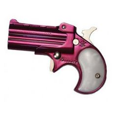 OMG is pink! I must have this! Derringer .22