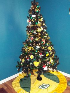 christmas tree ideas submitted by shopko customers hey thats mine find this pin and more on green bay packers - Green Bay Packers Christmas Ornaments