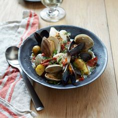 Ed's Portuguese Fish Stew // More Great Portuguese Recipes: http://www.foodandwine.com/slideshows/portuguese-recipes #foodandwine