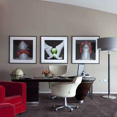bureau domicile mobilier peintures bureau bois massif