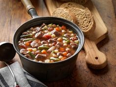 Lazy Day Beef & Vegetable Soup -UPDATED - | [sc] (6-8)