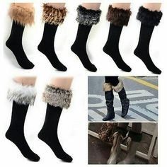 black faux furry sock NWOW Black faux fur sock. Price cheaper if you purchase with PP (check my instagram @sultan.of.golden) Other