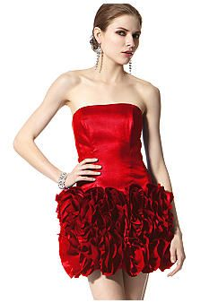 779e02e5637 Jessica McClintock Ruffle Skirt Dress Gowns Of Elegance