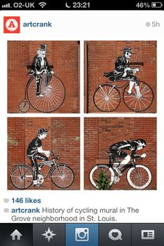 Cambios ...#Bikes #StreetArt