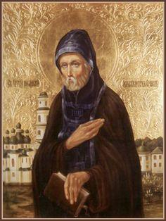 Преподобный Феофил Киевский, Христа ради юродивый