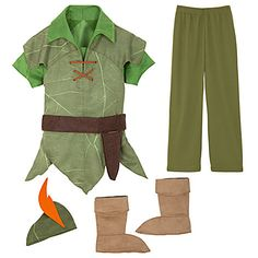 Peter Pan Costume for Boys | Costumes & Costume Accessories | Disney Store