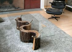 Beau Table With Tree Trunk Base   Google Search Wood Stump Side Table, Tree  Stump Coffee