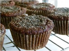 7 Chia Seed Recipes For A Gluten-Free Breakfast http://www.dailywt.com/7-chia-seed-recipes-for-a-gluten-free-breakfast/ Recipe: http://pamelasalzman.com/chocolate-banana-almond-flour-muffins-with-chia-seeds-recipe-gluten-free-passover-friendly/
