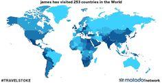 james's Travel Map - Matador Network
