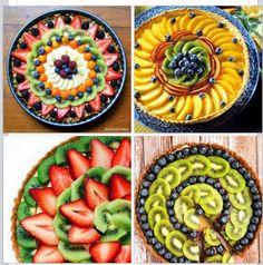 Fruit tart designs :)
