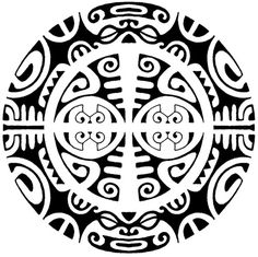 polynesian designs and patterns | round polynesian tattoo round polynesian…