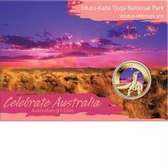 Celebrate Australia - World Heritage Sites - Uluru-Kata Tjuta National Park 2012 $1 Coin