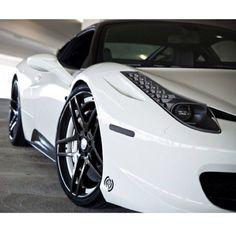 Gorgeous White Ferrari 458 Italia Gorgeous White F Ferrari Italia 458, Ferrari 458, Lamborghini Aventador, Audi, Bmw, Luxury Sports Cars, Sport Cars, Mercedes Benz Amg, Motocross