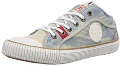 Pepe Jeans London INDUSTRY DENIM GIRL Mädchen Sneakers - http://on-line-kaufen.de/pepe-jeans/pepe-jeans-london-industry-denim-girl-m-dchen