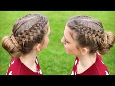 Hi Guys! The 9th Braid in my Series is a 4 strand ribbon braid hairstyle . I love braids with ribbons ;) As always , if you like this tutorial don't forget t...