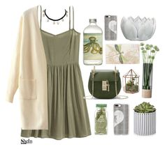 """""""#SHEIN"""" by credentovideos ❤ liked on Polyvore featuring H&M, TokyoMilk, LSA International, Casetify and WithChic"""