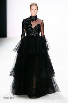 Königinnen der Nacht: schwarzes Brautkleid von Irene Luft I Braut Concierge - Hochzeit in Berlin