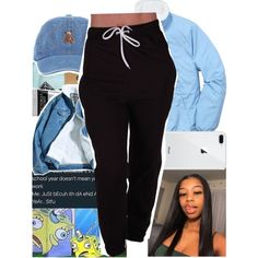 Untitled #554 by kklbarnes on Polyvore featuring polyvore, fashion, style, HUF, Victoria's Secret and clothing