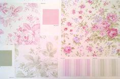 Favorite Fabrics Blog: Shabby Chic Fabrics