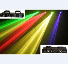 aobolighting 4 Lens RGYP Laser Light Disco DJ Pro Party Stage Club Lazer Show #aobolighting