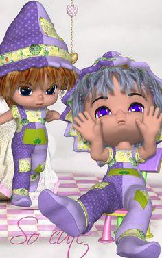 DA-SoCute for Lil Bit Cute 3D Figure Essentials 3D Models DarkAngelGrafics