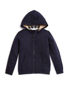 Burberry Boys' Pearcy Hooded Sweatshirt - Sizes 4-14 | Bloomingdale's
