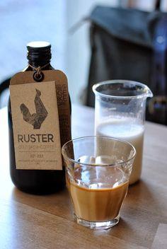 RUSTER cold brew coffee // p e p e r m i n t