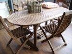 Tavolo Ovale allungabile in legno