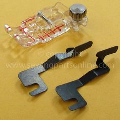 Clear View Quilting Foot and Guide Set, Janome #200449001