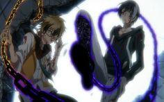 Badass Greed Pair (Licht-tan and Lawless-chan ) - Servamp ep. 10