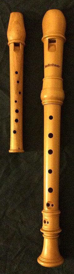 Garklein-recorder-and-soprano-recorder - Garklein recorder - Wikipedia Woodwind Instrument, Musical Instruments, Musicals, Music Instruments, Candy, Instruments, Musical Theatre