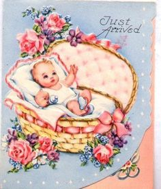 vintage baby cards - Google Search