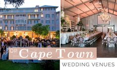 Find the Best wedding venues in Cape Town to suit your budget. From grand to intimate - these are the top venues in Cape Town. Cape Town Wedding Venues, Best Wedding Venues, Wedding Tips, 8th Wedding Anniversary Gift, Wedding Book, Dolores Park, Travel, Events, Inspiration