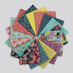 Garden Party Tango - Half Yard Bundle from Garden Party Tango by Tula Pink for Windham
