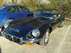 E Type Jaguar spotted at the Vyne NT