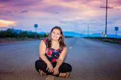 Sitting on the road! Photos by Karina Schuh Photography