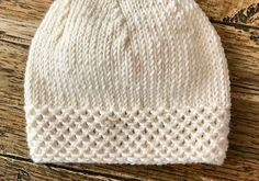 Knitting Needles, Baby Knitting, Crochet Baby, Knit Crochet, Baby Hats, Knitted Hats, Sewing, Sweaters, Handmade