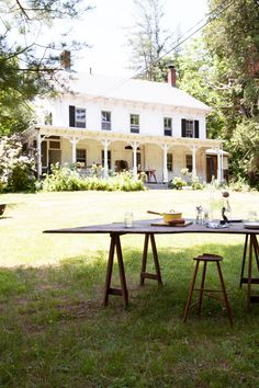 when i fantasize about living in the country it's in a house like this http://www.sfgirlbybay.com/2013/07/17/hudson-valley-home-tour/