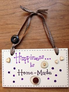Personalised Hand-Made Shabby Chic Sign £4.99 via @Shopseen