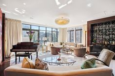 Tour a Pokémon Executive's $19 Million 4-Story Penthouse in New York C | Architectural Digest