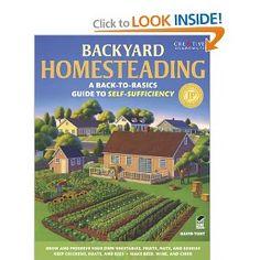 Backyard Homesteading: A Back-to-Basics Guide to Self-Sufficiency (Gardening): David Toht, Gardening: 9781580115216: Amazon.com: Books
