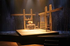 The Crucible, Rose Theatre Set Designed by Mia Flodquist