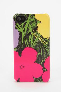 Andy Warhol iphone cover. want!