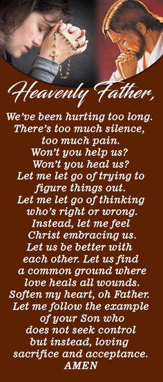 Prayer for healing a broken relationship Prayer for healing a broken relationship Lent Prayers, Prayers For Healing, Bible Prayers, Morning Prayers, Catholic Prayers, Powerful Prayers, Prayer For Love, God Prayer, Prayer Quotes