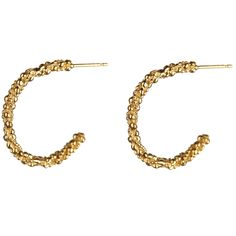 Stark Half Hoop Earrings Barbara Yarde Jewellery £160.00