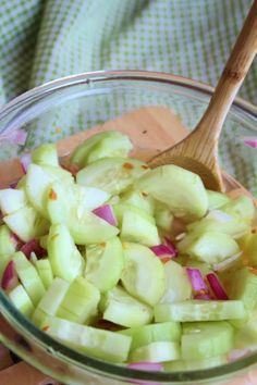Sweet and Spicy Cucumber Slices - Joyful Momma's Kitchen