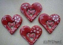 Пряничные валентинки