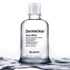 Dr. Jart+ - Dermaclear™ Micro Water - A pure and natural all-in-one cleansing water that removes makeup and impurities while toning and brightening skin.