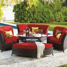 Outdoor Furniture  http://www.extendedlivingspaces.com/